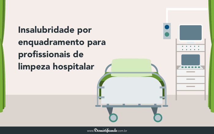 Insalubridade enquadramento limpeza hospitalar 700x438 - Insalubridade por enquadramento para profissionais de limpeza hospitalar