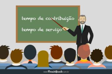 Tempo de contribuição e tempo de serviço no direito previdenciário