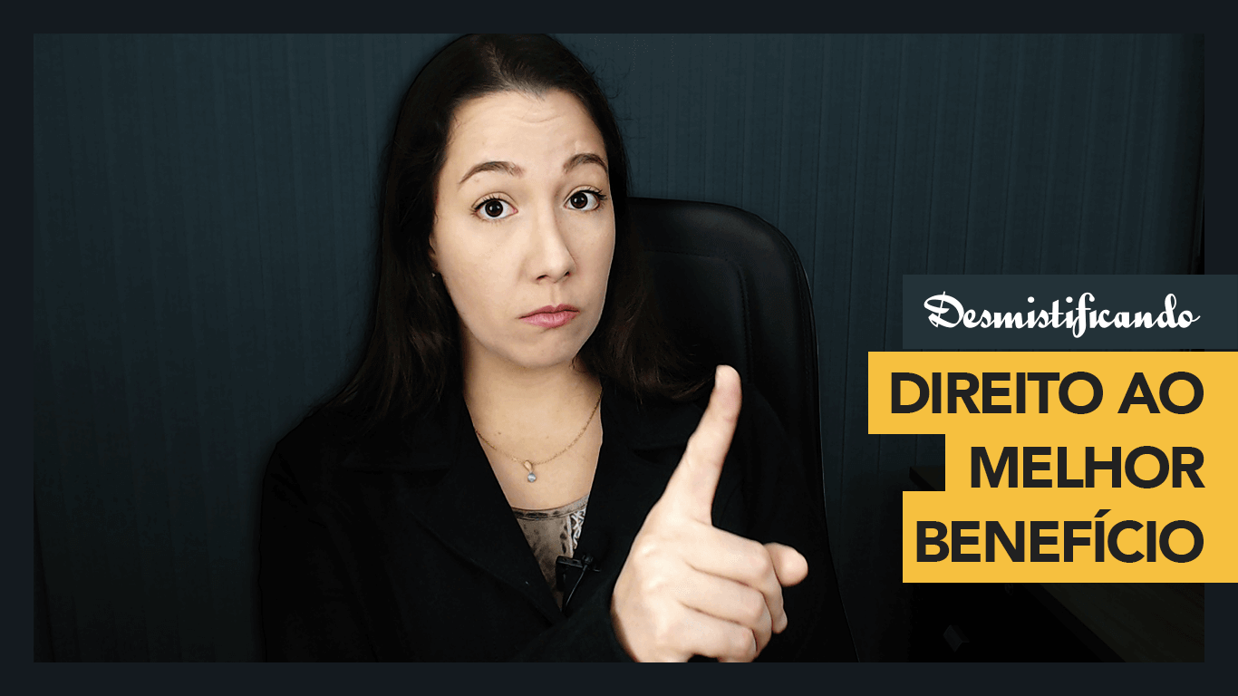 thumbnail youtube direito melhor beneficio - Direito ao Melhor Benefício: se você não conhece, não advogue em Direito Previdenciário [VÍDEO]