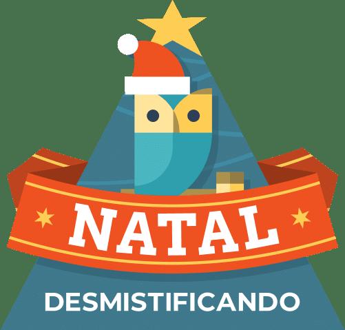 Badge Natal - Vai começar o Natal Desmistificando o Direito 2019